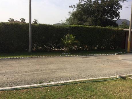 Vendo Lindo Terreno En Condominio En La Molina