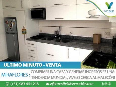 Casa Remodelada En Venta + 3 Mini Dptos Independientes Para Alquilar