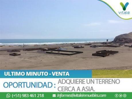 Cerca A Asia - Adquiere Un Terreno En Playa La Ensenada