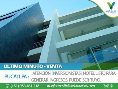 Hotel Moderno En Venta - Pucallpa