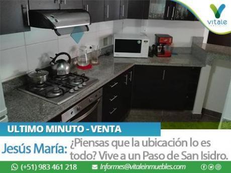Departamento + Con Cochera Y Deposito En Jesus Maria - Cerca A U. Pacifico