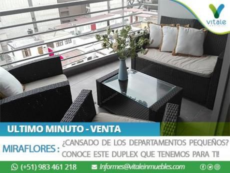 Duplex Sin Amoblar En Miraflores Con Jardín Y área De Parrillas Propio