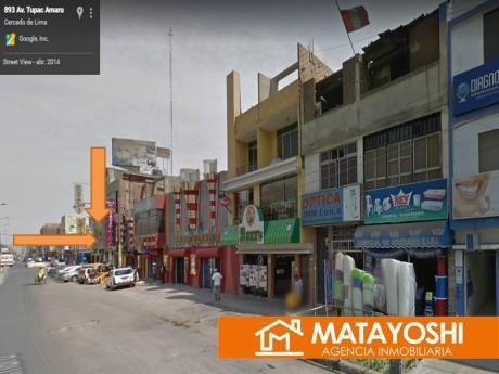 Alquilo Local Comercial En Comas, Av Tupac Amaru