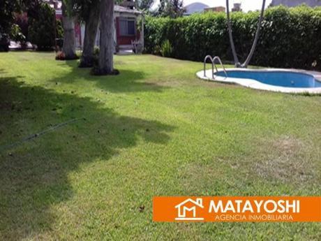 Venta Casa De Playa 1 Piso Y Hermoso Jardín En Santa Rosa Norte, Antes De Ancón