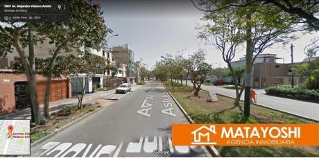 Vendo Casa Como Terreno En Santiago De Surco, En La Misma Av Velasco Astete