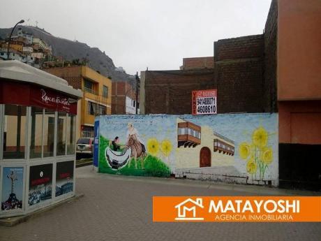 Vendo Terreno En Esquina, Cruce De Pasaje Los Descalsos Con Calle Atahualpa