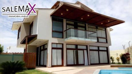 Linda Casa Con Piscina En Venta – Condominio Miraflores Country Club - Piura