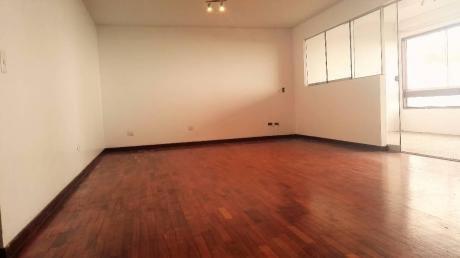 Departamento En Alquiler Sin Amoblar En Miraflores, 150 M2, 3 Dorm.