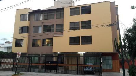 Céntrico Departamento En Monterrico A 3 Cuadras De Embajada De Usa