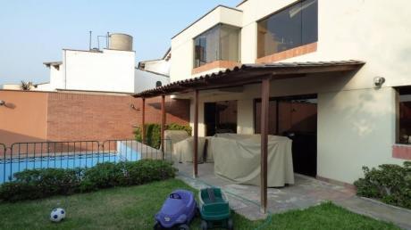 Hermosa Casa Con Piscina Y Frente A Parque - Rinconada Del Lago