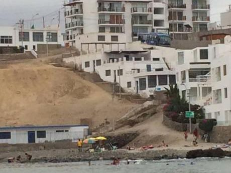 ¡excelente Terreno De Playa 722 M2 Frente Al Mar En San Bartolo - Venta!