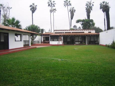 ¡hermosa Casa 1270 M2 Tipo Rustico En La Encantada De Villa, Chorrillos - Venta!