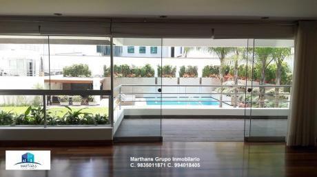 Venta Departamento En San Isidro - Av Santo Toribio Elegante Flat Residencial