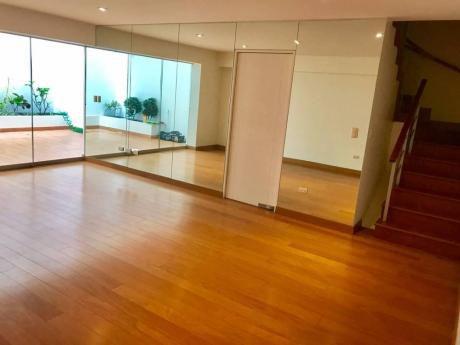 Precioso Duplex En 1er Piso En La Mejor Zona De Miraflores - Ideal