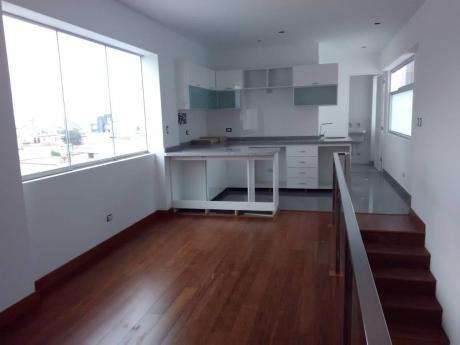 Duplex 2 Dorms De Estreno San Isidro Limite San Borja - Oportunidad
