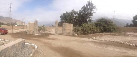 Vendo Terreno De 1007 M2 En Pachacamac Limite Cieneguilla Proyecto La Hacienda