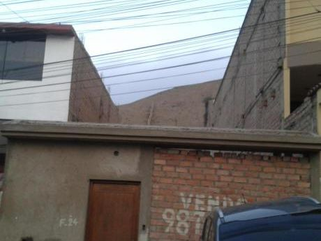 Vendo Terreno De 120 M2 En La Urb. Las Colinas De La Molina