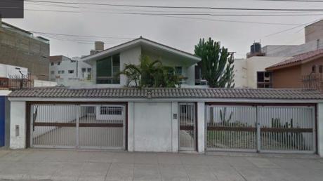 Venta Casa - Av Benavides Cerca A Ovalo Higuereta - Miraflores