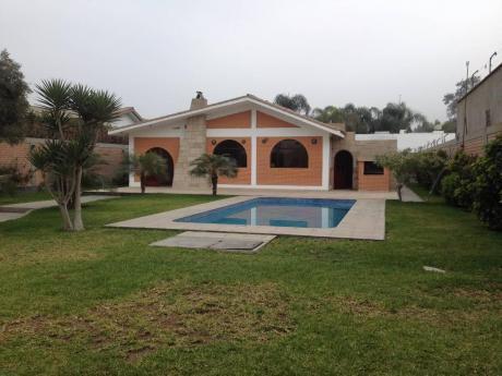 Ocasión Por Viaje - Casa En La Molina 1,000 M2