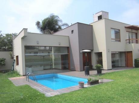 Casa 4 Dorm. - Piscina - At. 560 M2 - Amplio Jardín - $2350