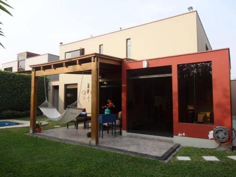 Condominio Con Piscina En 1era Etapa Del Sol De La Molina En Us$