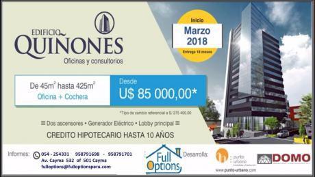 Excelente Oportunidad¡oficinas O Consultorios En Av Quiñones Cayma
