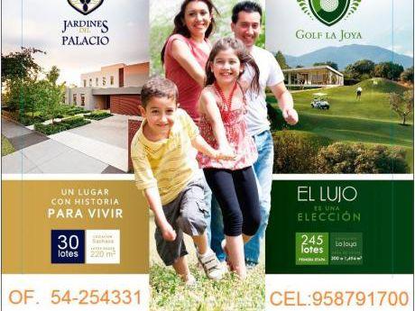 Venta De Terrenos En Condominio Residencial Golf La Joya ¡
