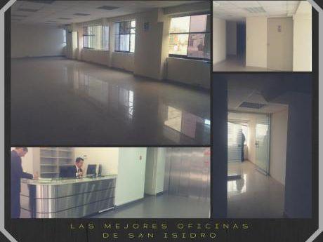 Excelente Oficina En La Zona Financiera De San Isidro