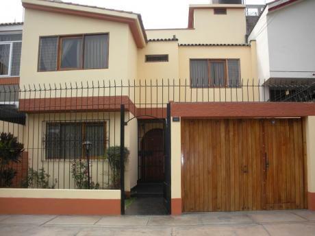 Casa En Venta Salamanca (cerca A La Av Paracas) - Ate