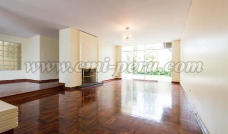 Hermosa Y Amplia Casa En Alquiler En Miraflores