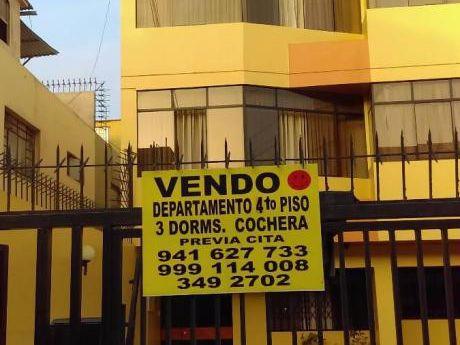Pueblo Libre, Bonito Dpto. Us$116,500. 02 Cocheras, 3dorms. Vista Calle, 4topiso