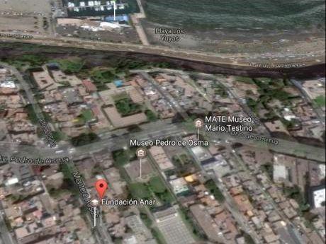 Venta De Terreno, Jr. Montero Rosas, Zona Estrategica De Barranco