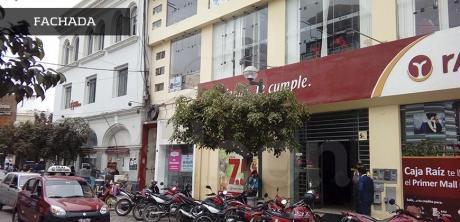 Excelente Local Comercial O Oficina En Alquiler En Pleno Centro De Chiclayo