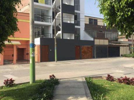 Se Alquila 90 M2 3 Dorm. Ovalo De Santa Anita Calle Las Grullas