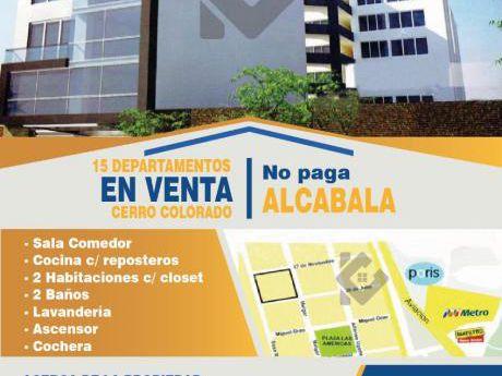 Venta - Departamento - Cerro Colorado
