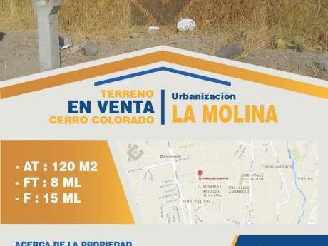 Venta - Terreno - Cerro Colorado