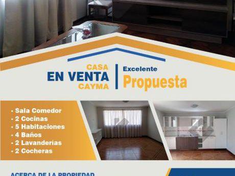 Venta - Casa - Cayma