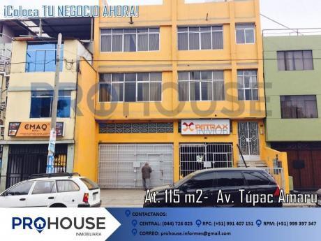 Alquiler Local Comercial: Av Túpac Amaru - Ex Tracto Camiones Usa (a. T. 115 M2)