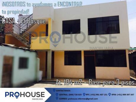 Venta: Casa En Condominio Urb. El Bosque (104 M2) Cerca A Colegio Jan Komensky