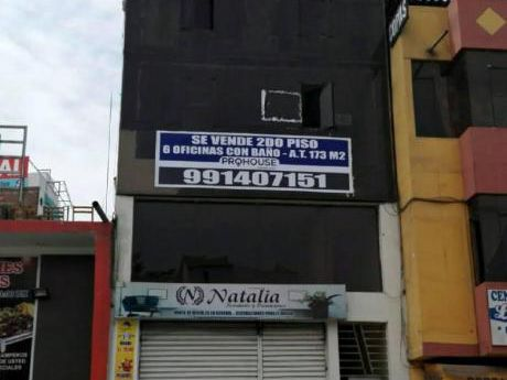 Venta 2do Piso: 6 Oficinas Comerciales Av España Cdr. 14 - 173 M2