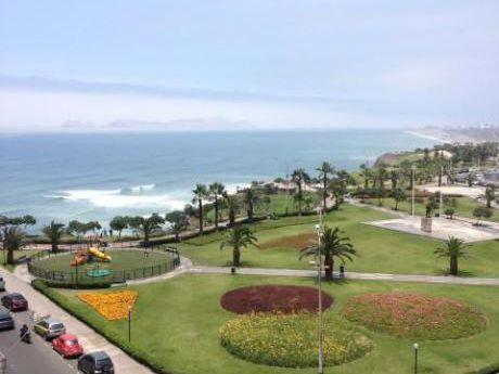 Alquilo Departamento Amoblado Y Equipado Con Vista Al Mar En Miraflores