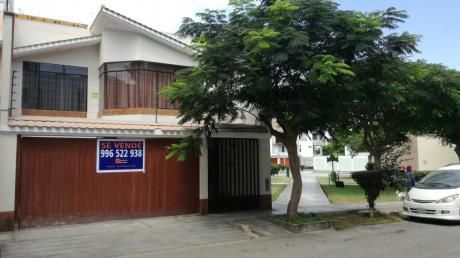 Se Vende Casa En Surco Urb Libertad Con Acceso A Parque