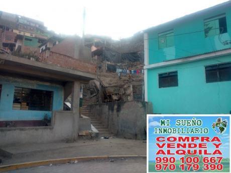 Casa Dos Pisos 260 M2, Luz Trifásica A 1 Cuadra De Av 26 Noviembre (n. Esperanza)