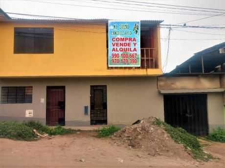 Casa De 220 M2 Dos Pisos, Cerca A Tottus De Tablada Villamaria.