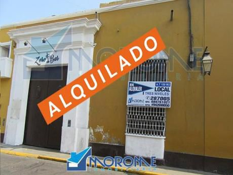 Alquilo Excelente Local Comercial Jr. Independencia A 1/2 Cuadra Plaza De Armas