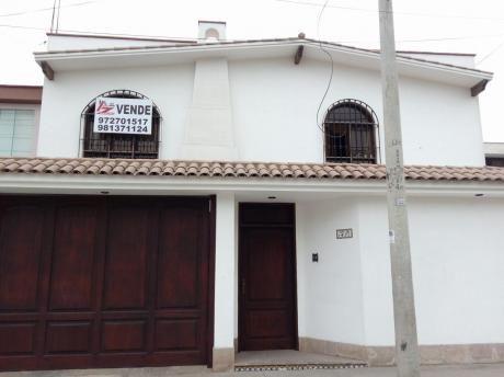 Excelente Casa Remodelada Surco