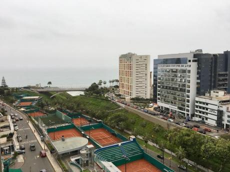 Miraflores Malecón 28 De Julio 3 Dorm. Amoblado Vista Al Mar Y Club Terrazas