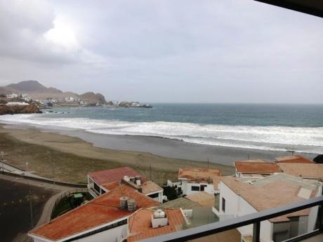 Alquiler De Departamento Con Espectacular Vista Al Mar En Playa De Santa Maria.