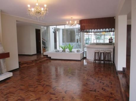Miraflores Alquilo Casa Urb. La Aurora Us$2800 (cerca Rocca Boloña)