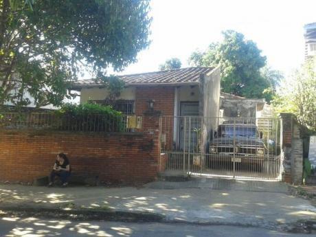 Vendo Casa A Demoler O Remodelar En Villa Morra!!